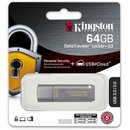 USB-Stick DataTraveler® Locker+ G3, USB 3.0, 64 GB,...