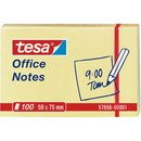 Haftnotiz Office Notes, 50x75mm, gelb, 100Bl.